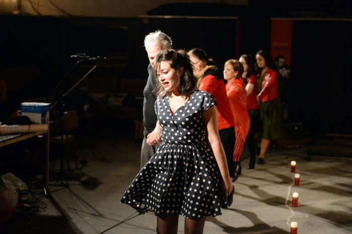 Filage du 28 novembre in Théâtre de La Casa de Espana ©Willy Vainqueur