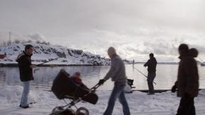 Les réfugiés de la nuit polaire