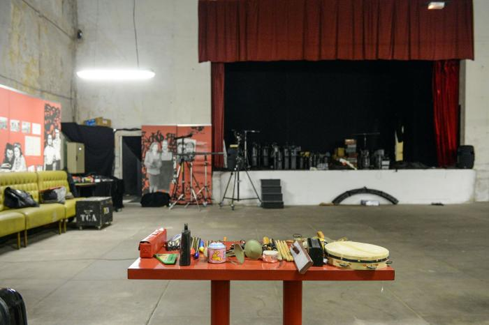 Photo de répétitions in Théâtre de La Casa de Espana ©Willy Vainqueur